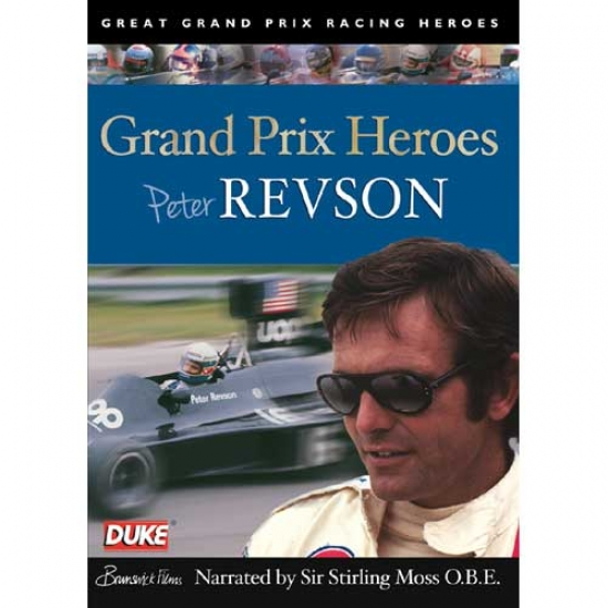 Peter Revson Grand Prix Heroes DVD