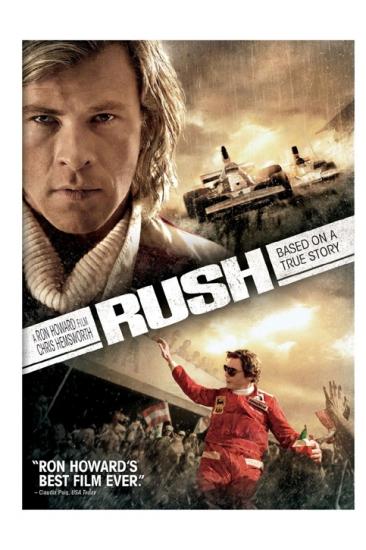 Rush Movie DVD