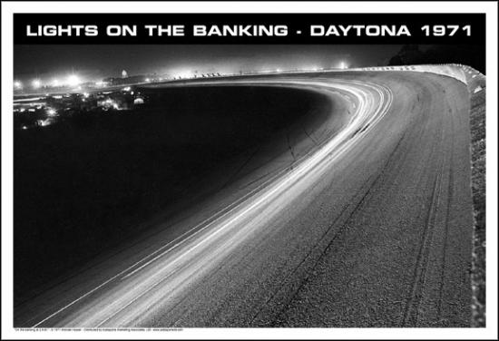 Lights at Daytona 1971 Poster