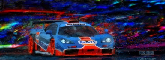 Mac and G McLaren Canvas Print