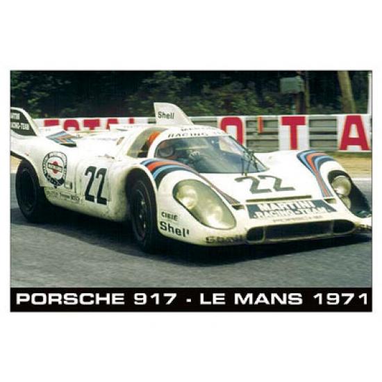 Porsche 917 Le Mans 1971 Poster
