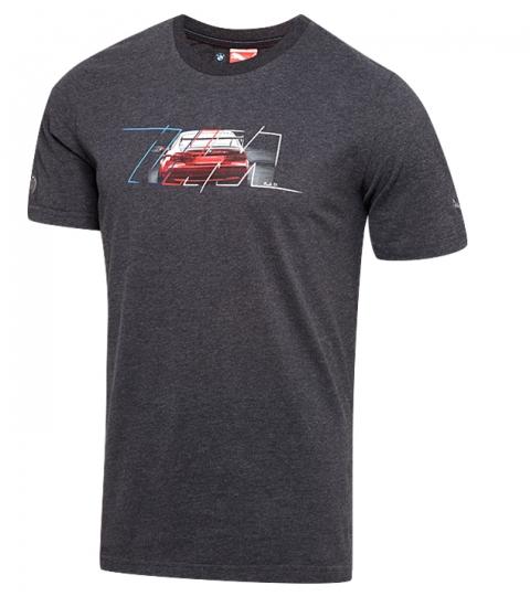 BMW M Puma Statement Grey Tee Shirt