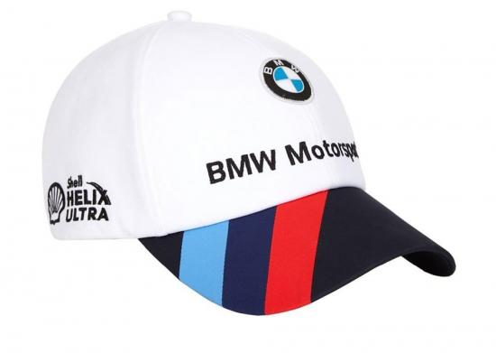 BMW Motorsport White Team Hat