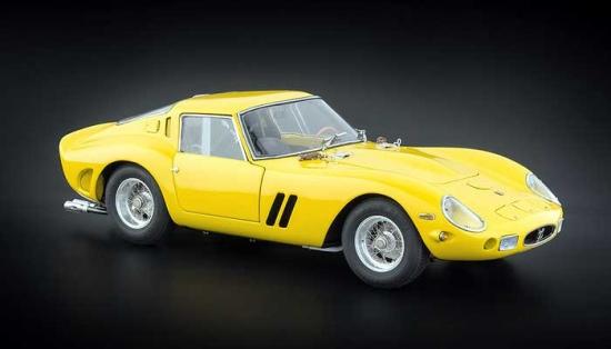 1962 Ferrari 250 GTO Yellow 1:18th CMC