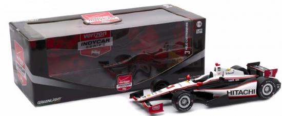 Helio Castroneves Penske Racing Hitachi #3 IndyCar 1:18th