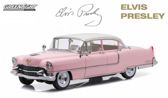Elvis Presley Pink Cadillac 1955 Fleetwood 1:18th