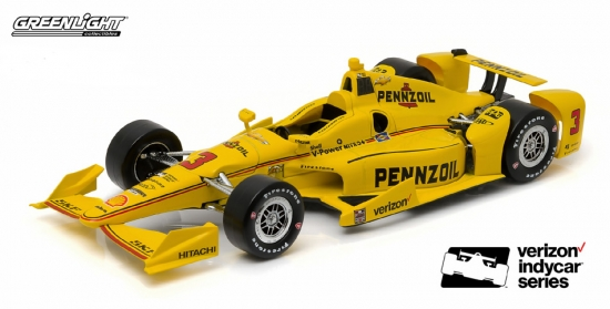 Helio Castroneves Penske Racing Penzoil #3 IndyCar 1:18th
