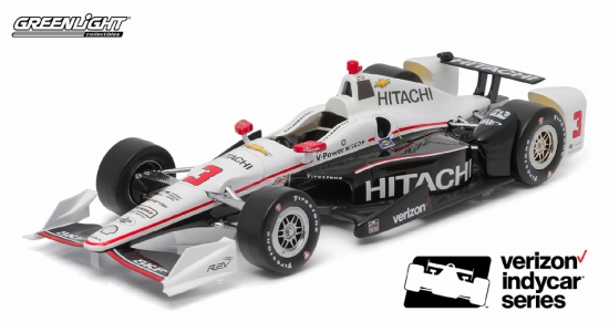 Helio Castroneves Penske Racing #3 Hitachi IndyCar 1:18th