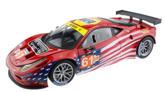 Ferrari 458 Italia GT2 Hotwheels 1:18th Model