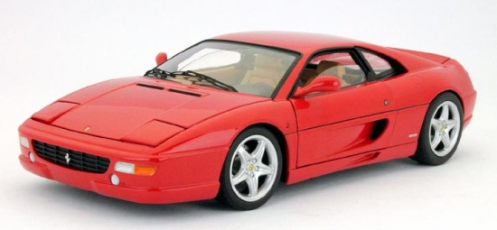 Ferrari F355 Berlinetta Red Hotwheels 1:18th