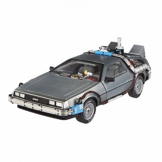 1:18th DeLorean Back to Future w/Mr. Fusion