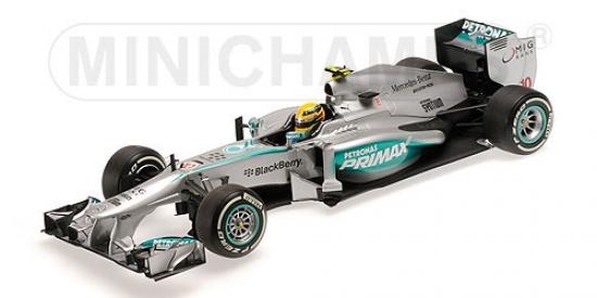 1:18th Lewis Hamilton Mercedes AMG W04 Malaysian GP