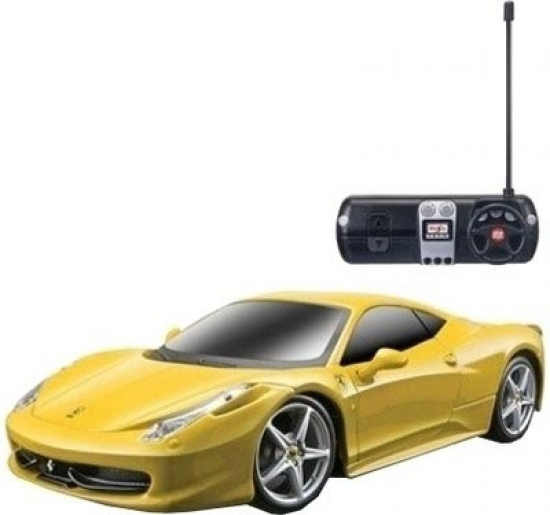 Ferrari 458 Italia Yellow R/C 1:24th Maisto