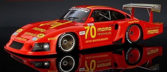 Porsche 935/78 Norisring 1981 Momo #70 Spark 1:18th Model