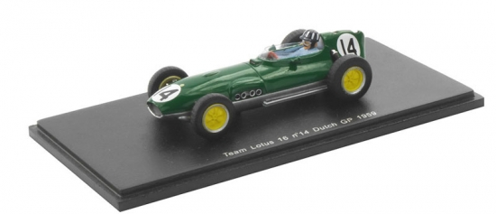 Graham Hill Lotus 16 Dutch GP 1969 Spark 1:43rd Model