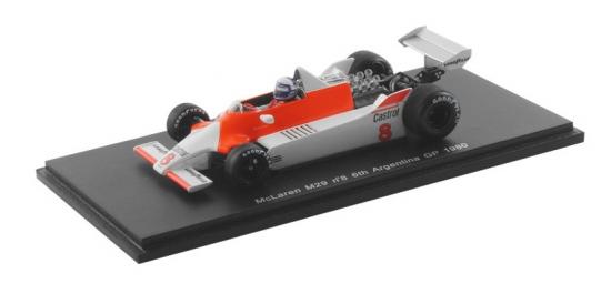 Alain Prost McLaren M29 Argentina GP 1980 Spark 1:43rd