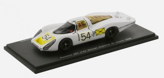Porsche 907 LH Daytona 24 Hours Winner 1968 Spark 1:43rd Model