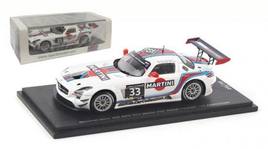 Mercedes-Benz SLS AMG GT3 Martini #33 Hankook 1:43rd Spark