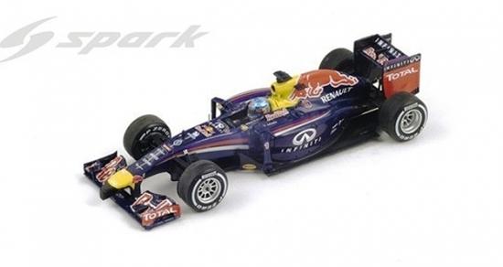 Red Bull Racing Sebastian Vettel 2014 Spark Diecast