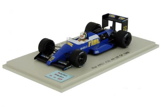 Spark 1:43 Rial ARC1 Andrea de Cesaris USGP 1988