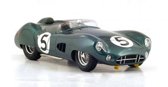 1:18th Aston Martin DBR1 Le Mans Winner 1959 Shelby