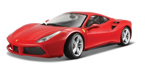 Ferrari 488 GTB Red Bburago 1:18th
