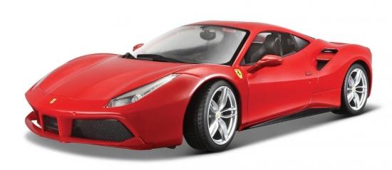 Ferrari 488 GTB Red Bburago 1:24th