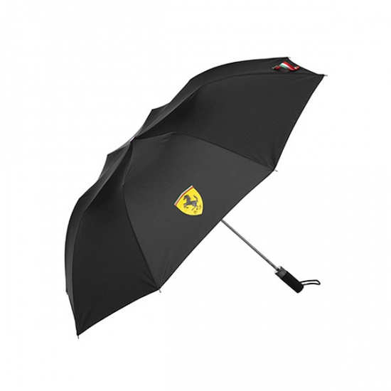 Ferrari Black Shield Golf Umbrella