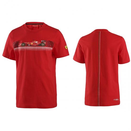 Ferrari Kids Red F1 Car Tee Shirt