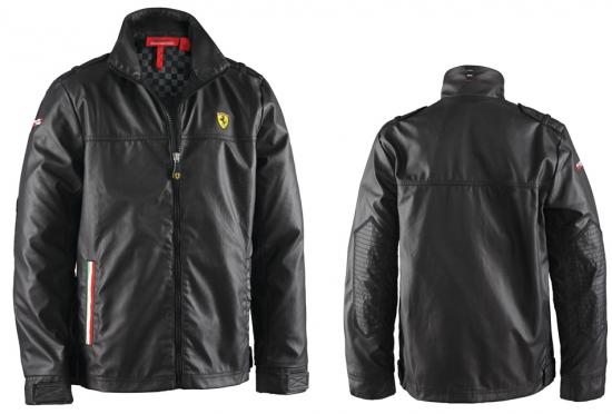 Ferrari Kids Black Race Jacket