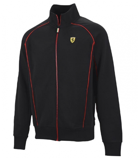 Ferrari Black Shield Zip Sweatshirt