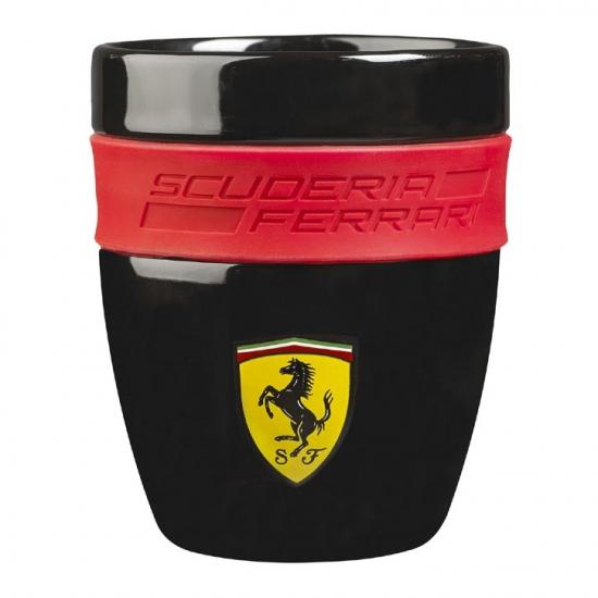 Ferrari Black Ceramic Cup