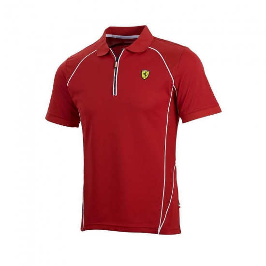 Ferrari Red Performance Polo Shirt