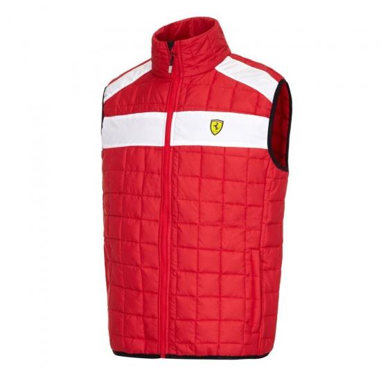 Ferrari Red Padded Vest