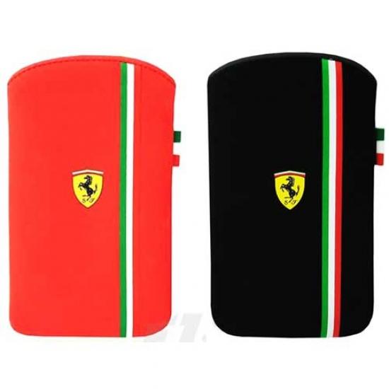 Ferrari iPhone 4-4S Scuderia Stripe Pouch
