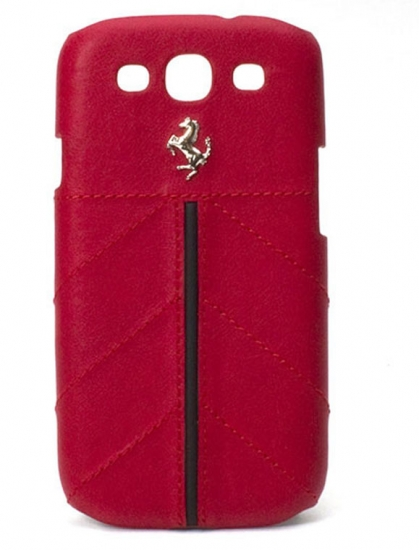 Ferrari Galaxy S3 California Red Leather Case