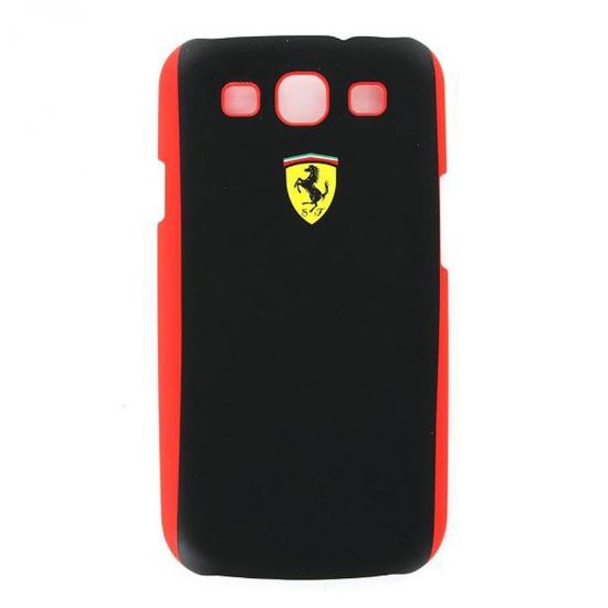 Ferrari Galaxy S3 Scuderia Black Shield Hard Case