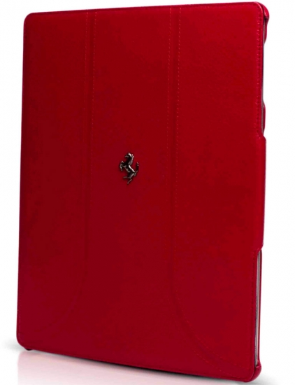 Ferrari iPad 3 FF Red Leather Case