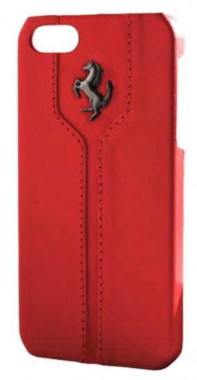 Ferrari Monte Carlo iPhone 5 Red Leather Case