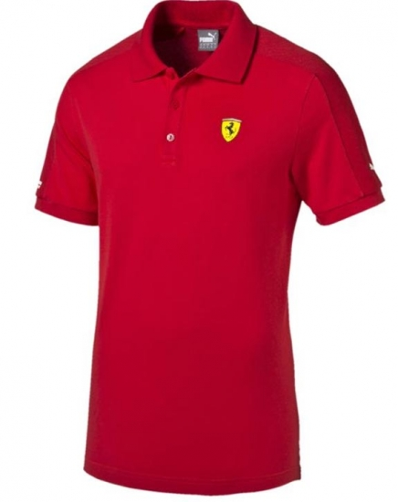 Puma Ferrari Red SF2 Polo Shirt
