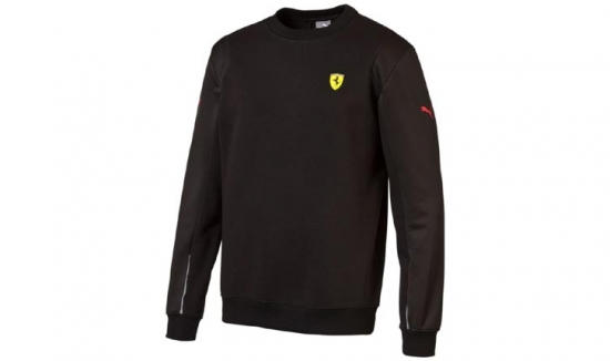 Puma Ferrari Black SF Sweatshirt
