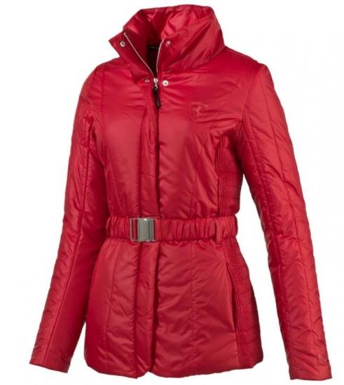 Puma Ferrari Ladies Red Padded Jacket