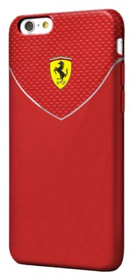 Ferrari iPhone 6/6S Racing Red Hard Case