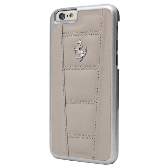 Ferrari 458 Grey Leather iPhone 6/6S Plus Case
