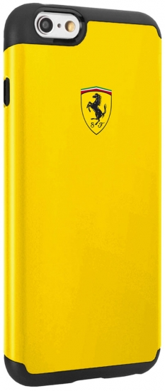 Ferrari iPhone 6/6S Shockproof Yellow Case