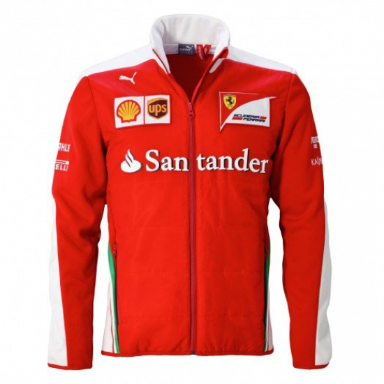 Scuderia Ferrari Team Softshell Jacket 2016