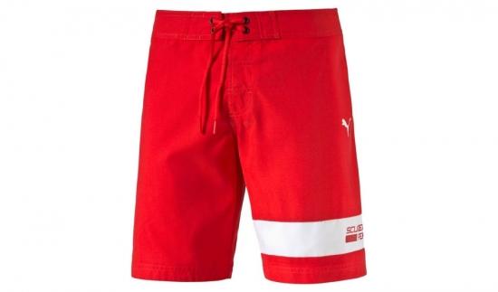 Puma Ferrari Red Board Shorts