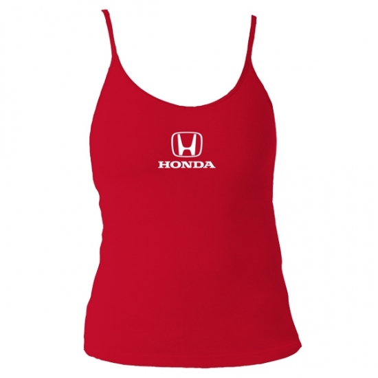 Honda Ladies Red Active Tank Top