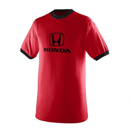 Honda Red Ringer Tee Shirt