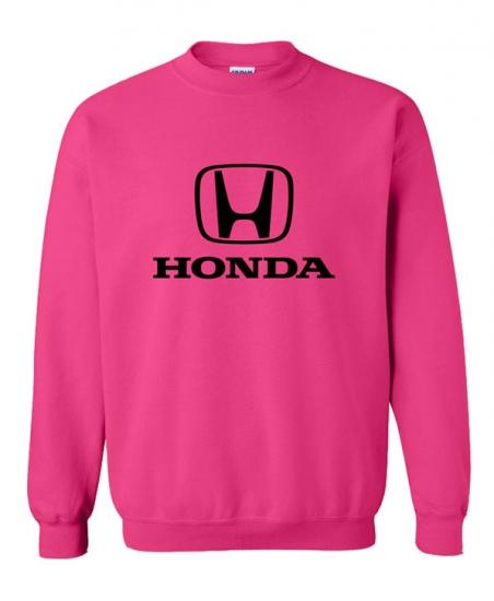 Honda Ladies Pink Sweat Shirt